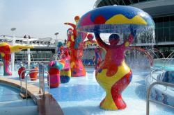 Freedom of the Seas, H2O Zone Spielbereich