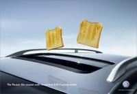 VW mit Toast