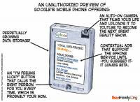 Google Phone Cartoon