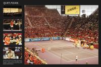 Schweppes beim Tennis in Madrid