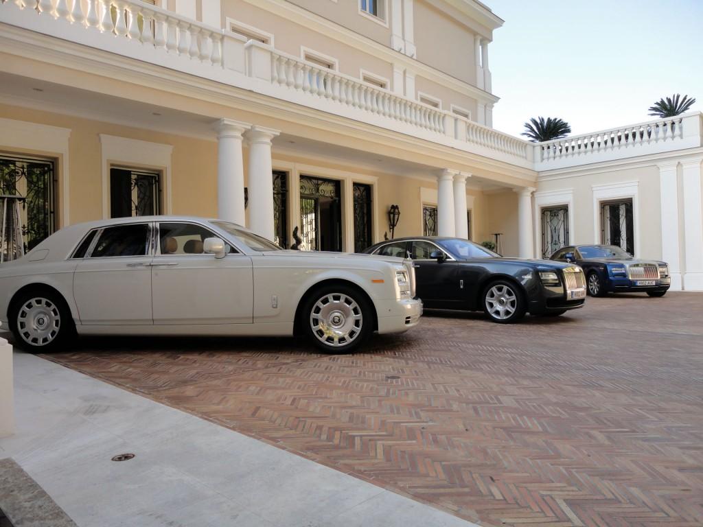 Rolls-Royce Phantom Serie II Präsentation in Nizza