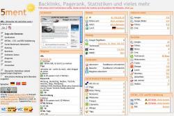 5ment.com - Backlinks, Pagerank, Statistiken und vieles mehr