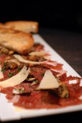 Carpaccio – Mariniertes Rindfleisch