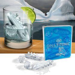 Gin + Titonic Eiswürfelform