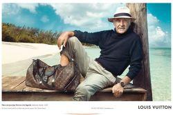 Sean Connery posiert für Louis Vuitton