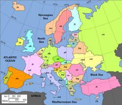 Das Europa der Top Level Domains